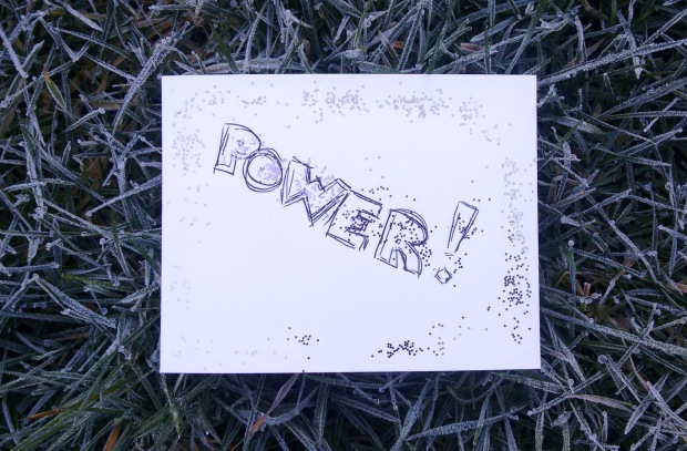 power postcard