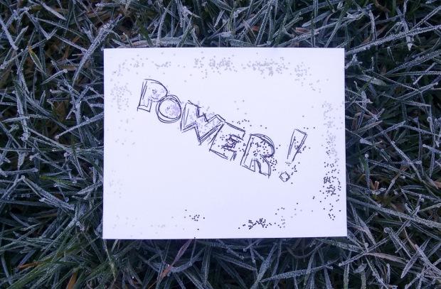 power postcard